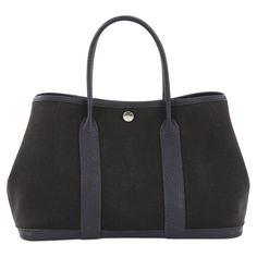 7a2f916a9e72 Hermès Garden Party Tote Toile Leather 30 Tote Bag