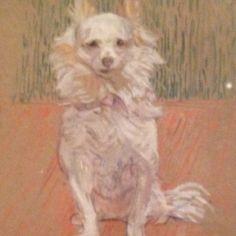 Van Gogh dog, Philadelphia Museum of Art