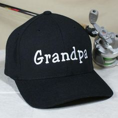 e873efbcbc9d6 Custom Embroidered Name Hat. Personalized Retirement GiftsGrandpa  GiftsFathers ...