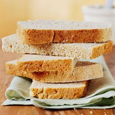 Rolled oats, whole wheat, barley, and cornmeal add fiber and nutrients to this quick and easy bread recipe. It's great for making toast or sandwiches.