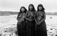 In Chile, Selk'nam women, Gusinde.