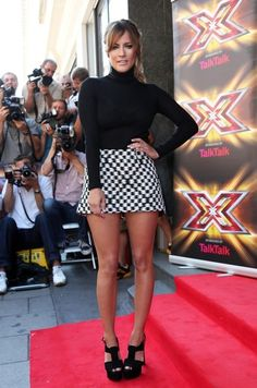 Caroline Flack Photos - Celebs attend the 'X Factor' season launch event in London on August - 'X Factor' Launches New Season in London — Part 5 Beautiful Body Photo, Beautiful Women, Curvy Women Outfits, Clothes For Women, Caroline Flack Style, Styled By Susie, Celebrity Photos, Celebrity Style, Fresh Outfits