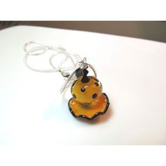 Necklace orange black ruffle and polka dot glass lampwork beads, black... ($29) ❤ liked on Polyvore featuring jewelry, necklaces, beaded necklaces, multi colored necklace, beaded jewelry, tri color necklace and multi color necklace