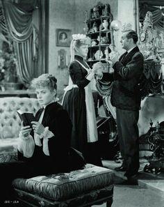 "Ingrid Bergman and Charles Boyer in ""Gaslight"" - 1944"