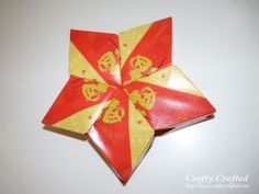 Red packet (angpow) star for lunar new year