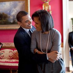 23 of Barack and Michelle Obama's Cutest Couple Moments - March 20, 2009  - from InStyle.com