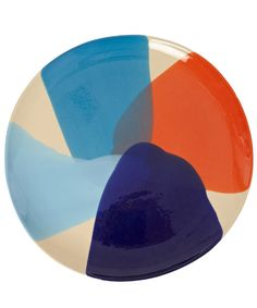 Splash Print Dinner Plate #ceramics #pottery