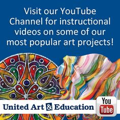 Art project videos here: https://www.youtube.com/user/UnitedArtAndEd/videos