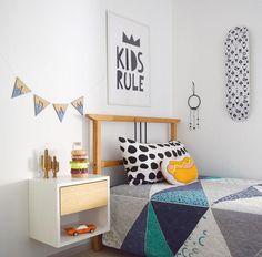 Love this modern kids space!
