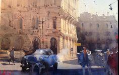 Alvaro Castagnet La Habana Cuba, arriba amigos!!! Quick one 35x56