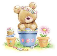 Leading Illustration & Publishing Agency based in London, New York & Marbella. Tatty Teddy, Gifs Cute, Gifs Disney, Blue Nose Friends, Teddy Bear Baby Shower, Cute Clipart, Bear Clipart, Love Bear, Cute Teddy Bears