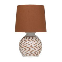 Wildwood ribbed jar porcelain walnut table lamp 510 for Bella figura lamps