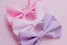 hair bow galore