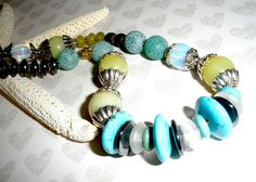 #SpecialTweek CHUNKY GEMSTONE NECKLACE Handcrafted Chunky Gemstone