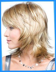Medium Shag Hairstyles with Bangs Fine Medium Short Hair, Medium Hair Cuts, Short Hair Cuts, Medium Hair Styles, Short Hair Styles, Medium Blonde, Short Bangs, Medium Shag Hairstyles, Short Hair