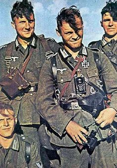 German soldiers - Autumn 1942 by GLORY. The largest archive of german WWII images, via Flickr