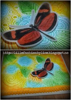 butterfly lillefashion.by.lise