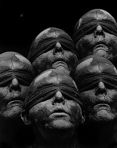 """By Misha Gordin, from the """"Year of Shout"""" series (http://www.bsimple.com/shout.htm). Conceptual photography (photomanipulation with analog photos)"""
