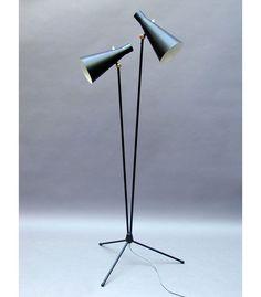 modern interior design lighting mid century