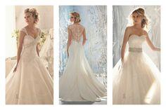 vestido de novia con tirantes gruesos - Buscar con Google