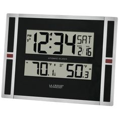 Imported From Abroad Led Digital Temperature Instruments Weather Station Wireless Sensor Hygrometer Thermometer Multi-function Desktop Table Clock More Discounts Surprises Measurement & Analysis Instruments Tools