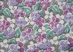 Q is for Quilter » Blog Archive » Vintage Fabric Gallery – 1930s ...