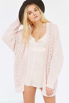$39 Kimchi Blue Milly Femme Cozy Cardigan Sweater