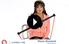 Marie Osmond with the BodyGym