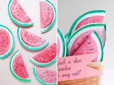 Watermelon Favors DIY | Oh Happy Day!