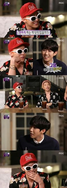 """G-Dragon and Taeyang Designate Kwanghee as Their Muse on """"Infinity Challenge"""""""