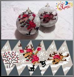 БИСЕР - XXI ВЕК | VK Crochet Christmas Ornaments, Christmas Baubles, Holiday Ornaments, Seed Bead Crafts, Beaded Crafts, Beaded Ornament Covers, Beaded Ornaments, Bead Crochet Patterns, Beading Patterns