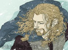 """""""Actually A Lion""""- coloured by ~ivory-dusk on deviantART // This is different; I like the angle. Very nice! Thranduil, Legolas, Fili Und Kili, Thorin Oakenshield, Bilbo Baggins, Hobbit Art, The Hobbit Movies, Lion, Jrr Tolkien"""