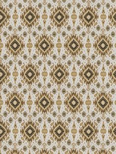4547203 Preuss Ikat Sandstorm by Fabricut Ikat Pattern, Textile Patterns, Textile Design, Print Patterns, Textiles, Fabricut Fabrics, Geometric Throws, Patterned Carpet, Fabric Crafts
