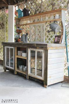 reclaimed-window-potting-bench-apieceofrainbow (2)
