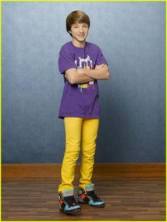 Jake Short as (Fletcher Quimby) in 'A.N.T. Farm' Season 3