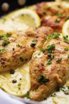 Creamy Lemon Chicken Piccata | The Recipe Critic