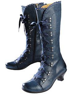 Boots Misa of Brako in blue | Deerberg