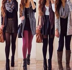 """Going out"" Fall outfits"