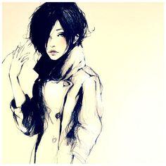 sketch #girl #drawing