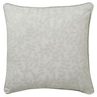Home Collection Grey Matelasse Cushion