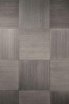 Plaques En Bois érodé (gris Clair), a work of art by Ingrid Donat Wall Texture Patterns, Tiles Texture, Wall Patterns, Wood Texture, Gate Design, Door Design, Carpet Tiles, Rugs On Carpet, Vitrified Tiles