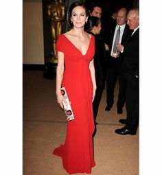 Sexiest Women Over 40..Check out this wonderful dress..the colour !!