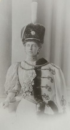 Princess Marie of Edinburgh - later Queen of Romania Queen Mary, King Queen, Maud Of Wales, Romanian Royal Family, Princess Alexandra, Second Empire, Royal Jewels, Queen Victoria, Military Fashion