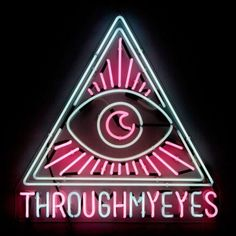 Through My Eyes Neon Sign Real Neon Light