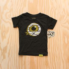Invisible Creature 'Mummy Jr.' kid's tee.
