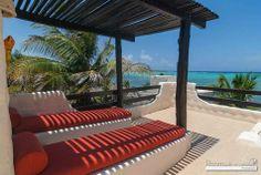 Casa frente a la playa en la Riviera Maya