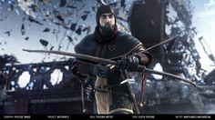"""ArtStation - Witcher 2 Cinematic - Character Textures, Bartłomiej """"Valery"""" Walendziak"""