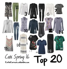 """Cabi Spring 2016/Top 20"" by katiedid59 on Polyvore featuring CAbi, women's clothing, women, female, woman, misses and juniors"
