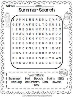 "Just Wild About Teaching: Have a ""Sunsational"" Summer!"