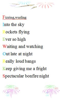 1000 images about poetry on pinterest acrostic poems for Firework shape poems template